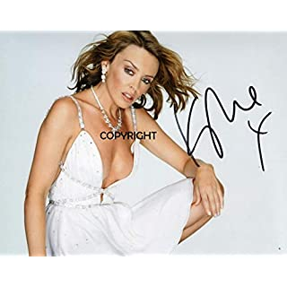 LIMITED EDITION KYLIE MINOGUE SIGNED PHOTOGRAPH + CERT PRINTED AUTOGRAPH