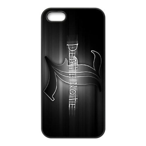 Death Note coque iPhone 4 4S Housse téléphone Noir de couverture de cas coque EBDXJKNBO11656