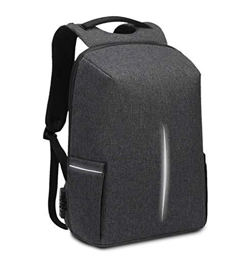 """BAIGIO Laptop Rucksack Anti-Diebstahl Wasserdicht Notebook Rucksack Business mit USB-Ladeanschluss für 15,6"""" Laptop (Dunkelgrau)"""