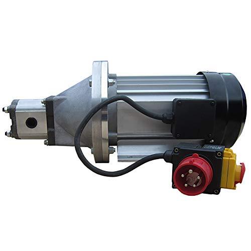 Hydraulikaggregat LSA5500-400V Elektromotor 3,5kW mit Hydraulikpumpe Zahnradpumpe für Holzspalter Kipper Pressen