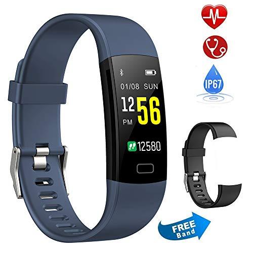 Semaco Pulsera Actividad Inteligente Pantalla Color de Deporte GPS Pulsómetro Monitor de...