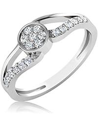 IskiUski 14KT Gold And Diamond Ring For Women