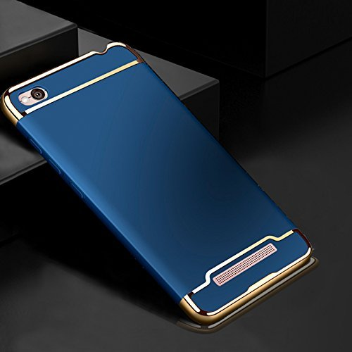 best authentic 5e352 74e48 J 3 in 1 Hybrid pc Hard Back Cover Electroplating Case For Xiaomi Redmi 4A