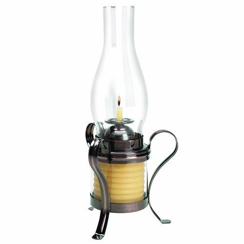 Kerze von der Stunde 40-Stunden-Kerze, umweltfreundlich Natürliche Bienenwachs mit Baumwolle Docht, kupfer Kerze Hurricane Lantern