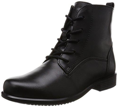 Ecco Damen Touch 25 B Biker Boots, Schwarz (BLACK1001), 39 EU