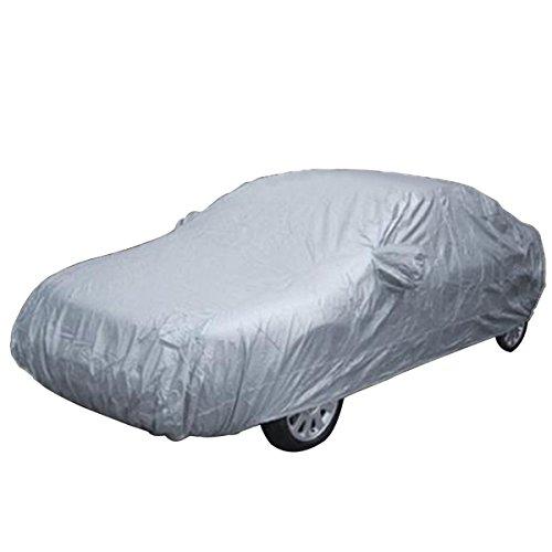 Auto Haube - SODIAL (R) 5,3 m XXL Volle Auto Wasserdichte Abdeckung Sonnen/ Regen/ Staub/ Schneeschutz Haube UV-Schutz (Auto-haube)