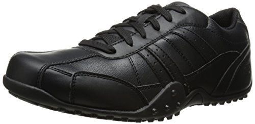 Skechers For Work 77038 Elston Relaxed Fit résistant chaussures de travail Black