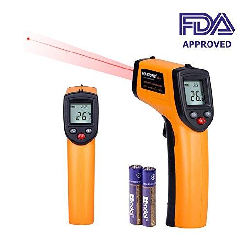Thermomètre infrarouge,EnshantThermomètre Infrarouge Sans Contact Tacklife/ Testeur Thermomètre Numérique
