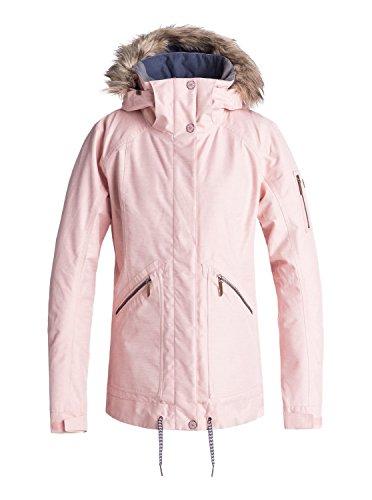 Roxy Meade - Snow Jacket for Women - Snow Jacke - Frauen - L - Rosa