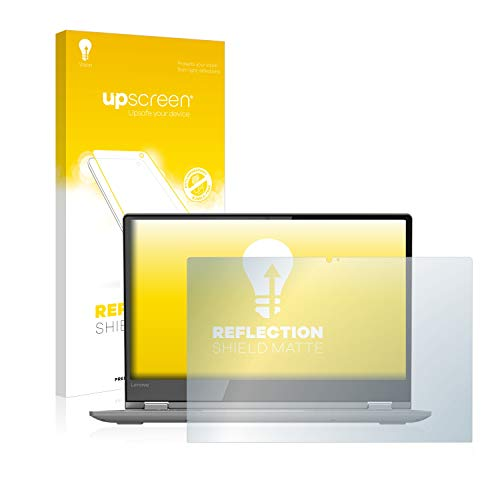 upscreen Entspiegelungs-Schutzfolie kompatibel mit Lenovo Yoga 530 - Anti-Reflex Bildschirmschutz-Folie Matt