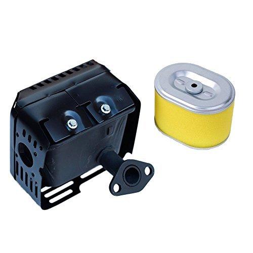 oxoxo Neue Schalldämpfer Auspuff Montage mit Air Filter Reiniger für Honda Motor GX160GX2006,5PS Motoren/Motoren/Motor Generator Wasser Pumpe -