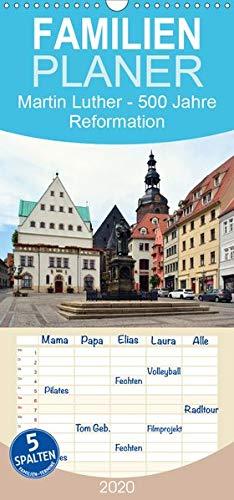 Martin Luther - 500 Jahre Reformation - Familienplaner hoch (Wandkalender 2020 , 21 cm x 45 cm, hoch): 500. Jahrestag des Thesenanschlags (Monatskalender, 14 Seiten ) (CALVENDO Glaube)