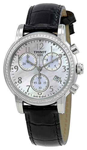 Tissot T0502171611201 - Orologio da polso Donna, Pelle, colore: Nero