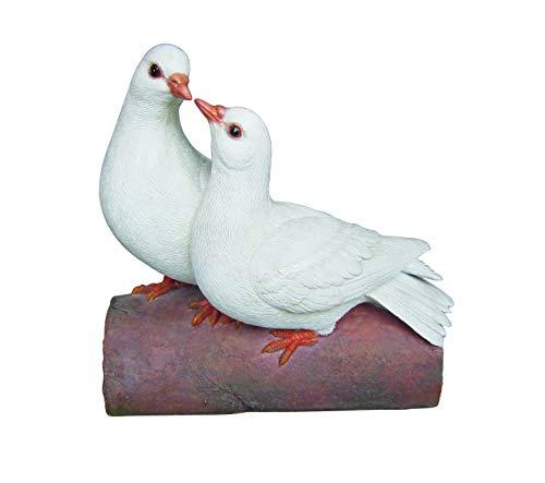 Vivid Arts 'Love Tauben' Hohl Harz Paar Tauben cooing miteinander zu -