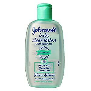 Johnson's Baby Clear Lotion Anti Mosquito 100ml