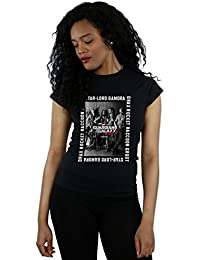 Marvel Femme Guardians of the Galaxy Framed Poster T-Shirt XX-Large Noir
