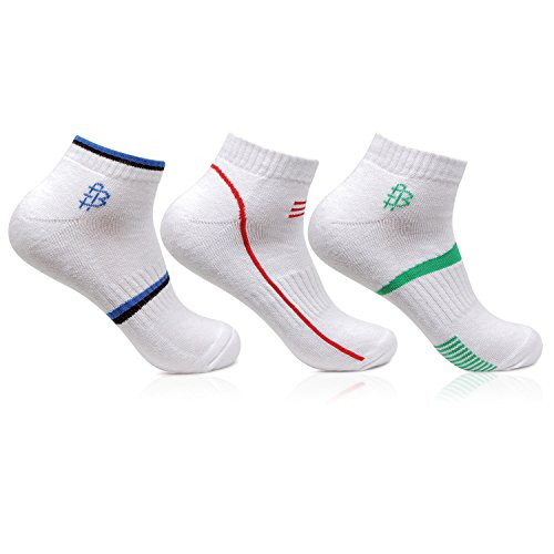 Bonjour-Mens-Cotton-White-Secret-Length-3-Pairs-Sports-SocksBRO7002S-PO3