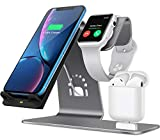 Bestand Wireless Charge Stand for 3 in 1 iWatch Airpods and