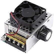 Akozon SCR Controlador de Velocidad Regulador del Módulo del Motor Regulador de Voltaje 4000W AC110V a