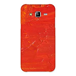 Orange Paint Back Case Cover for Samsung Galaxy J5