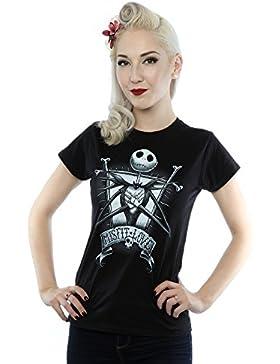 Disney Mujer Nightmare Before Christmas Misfit Love Camiseta