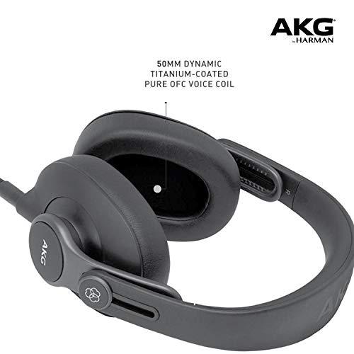 AKG Ok371 Over-Ear, Closed-Again, Foldable Studio Headphones Image 5