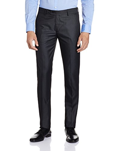Peter England Men's Formal Trousers