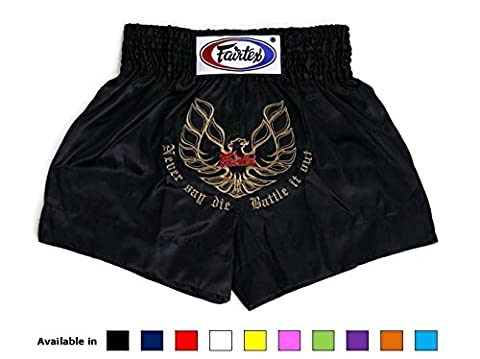 Fairtex Muay Thai Boxing Shorts Satin Size: S M L