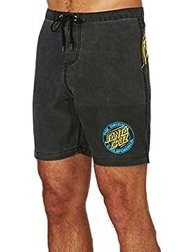 Santa Cruz Bañador (Boardshort) Vert Pigment negro talla: 30 Usa – 40 España (Hombre)