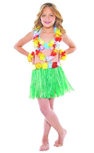 Hawaii-Rock für Mädchen Karneval Farbe (Hawaii Kostüme Mädchen)