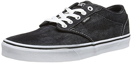 Atwood Vans Womens (Vans ATWOOD, Herren Sneakers, Grau ((Denim Acid Was FDG), 40 EU)