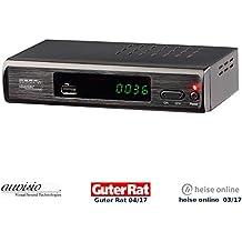 auvisio Dvbt Receiver: DVB-T2-Receiver mit H.265/HEVC für Full-HD-TV, HDMI & SCART, LAN, USB (Dvbt T2 Receiver)