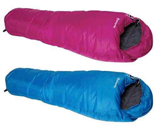 KingCamp Oxygen Family Camping Hiking Festival Rectangular Envelop 2 Season Sleeping Bag Blue