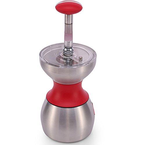 Machine à polir colorée de mode / Grinder de broyage en acier inoxydable de grinder / grain de café en céramique / machine à café à la maison (2 couleurs facultatives) (10 * 18.3cm) ( couleur : B )