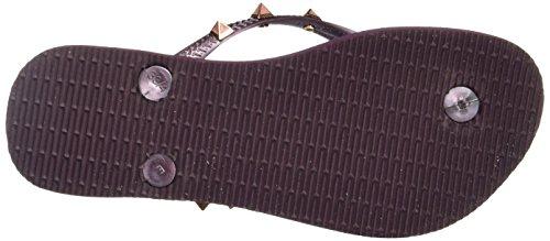 Slim aubergine aubergine Purple Sandalen Havaianas Damen Hardware 7039 zqdd1