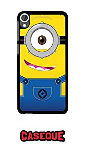 Caseque Minion Back Shell Case Cover For Htc Desire 820