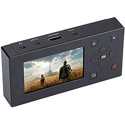 """ASHATA Grabador Audio/Video con Pantalla TFT de 3"""" para Grabadora AV,Adaptador Recorder Reproductor para Cintas/Cámara de cinta/VHS/VCR/DVD/DVR/Hi8/Consolas de Juegos,CD/Casete/Teléfono móvil,etc."""