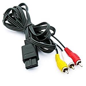 modell-welten : TV AV Kabel für Nintendo SNES / Super Nintendo