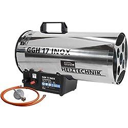 Güde 85006 / GGH17 Générateur d'air chaud à gaz Inox (Import Allemagne)