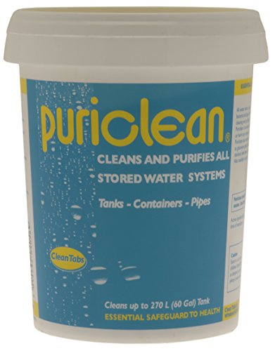 Price comparison product image Clean Tabs Puri Water Cleaner and Purifier - Blue,  400 g