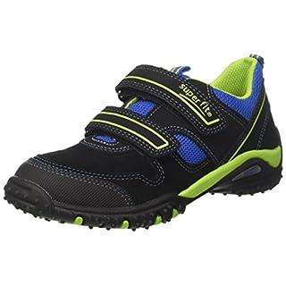 Superfit Jungen SPORT4 Sneaker, (Schwarz Multi), 28 EU