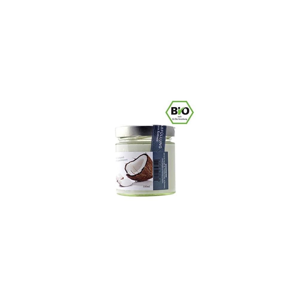 Bio Kokosl Premium Von Biomond 330 Ml Kaltgepresst Nicht Raffiniert Ungefiltert Rohkostqualitt Virgin Coconut Oil Frisch