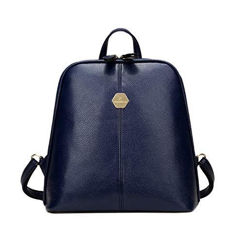 OneMoreT Damen PU-Leder Rucksack Mini Rucksack Mädchen Schultasche für Teenager Mädchen Mochila Schultertasche für Frauen blau