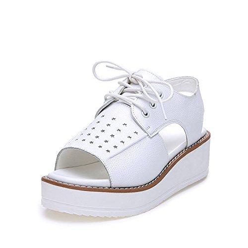 ZPPZZP Mme sandales épais l'été l'épaisseur vous détendre dans le confortable 39EU
