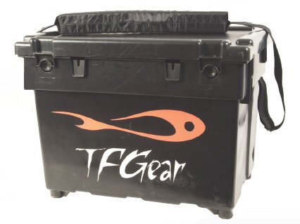 TF-Gear-Deluxe-Carp-Match-Sea-Fishing-Waterproof-Seat-Box-Cushioned-with-Carry-Strap