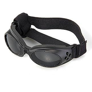 FACILLA® Black Framed Pet Puppy Dog UV Protection Doggles Goggles Sunglasses Eyewear 16