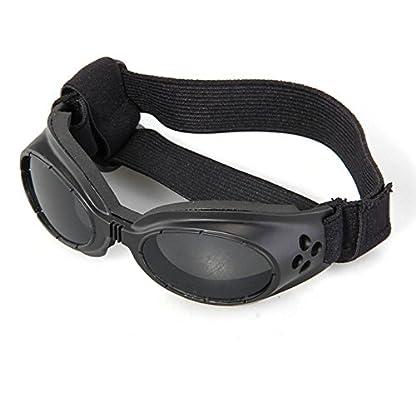 FACILLA® Black Framed Pet Puppy Dog UV Protection Doggles Goggles Sunglasses Eyewear 1