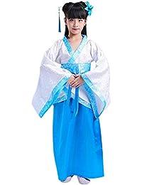 GOWE Trajes Estilo Chinos Hanfu - Exquisito Niños Tradicionales de la Escuela Niños Niñas Trajes Incluidos