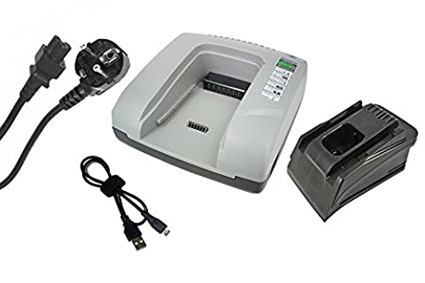 Batterie B 144 - PowerSmart® 20V-36V Chargeur pour Hilti AG 125-A22,