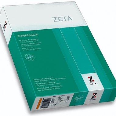 Schreibmaschinen-Papier ZETA Mattpost, Oberfläche matt, 80 g/qm, A4, weiß